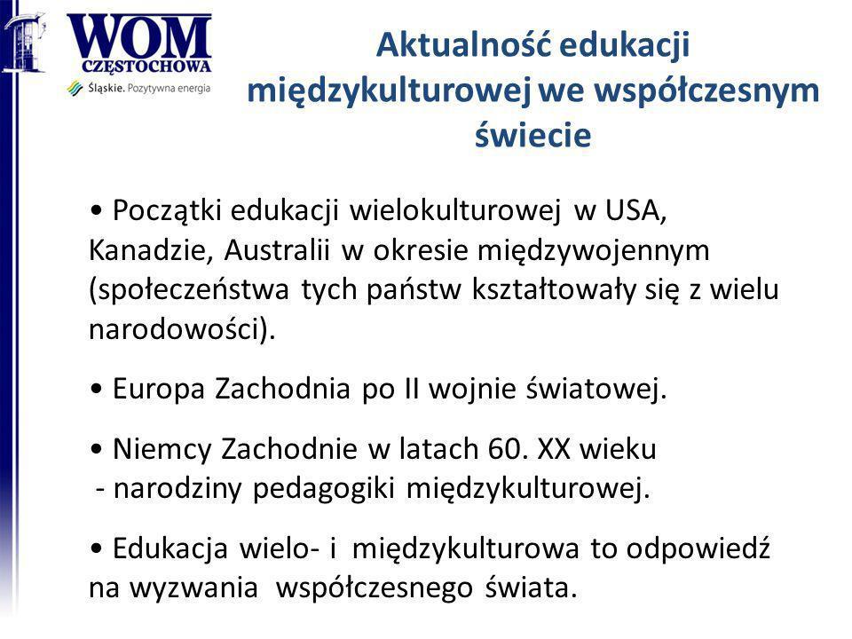 Aktualność edukacji międzykulturowej we współczesnym świecie