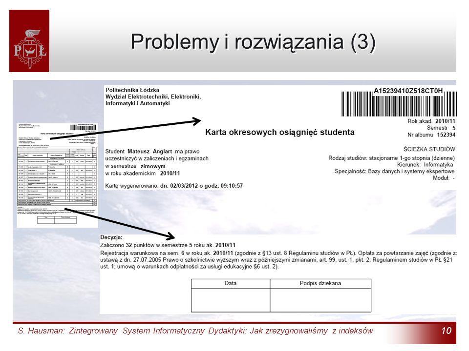 Problemy i rozwiązania (3)