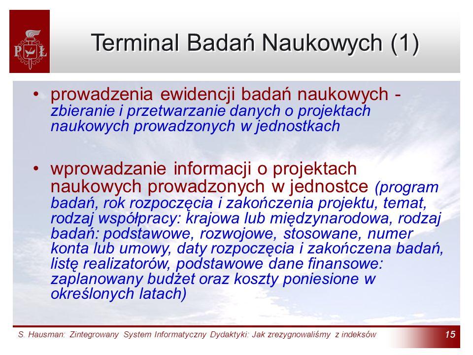 Terminal Badań Naukowych (1)