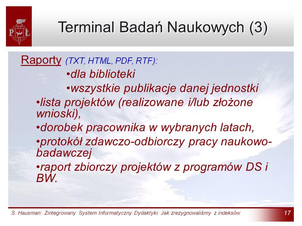 Terminal Badań Naukowych (3)