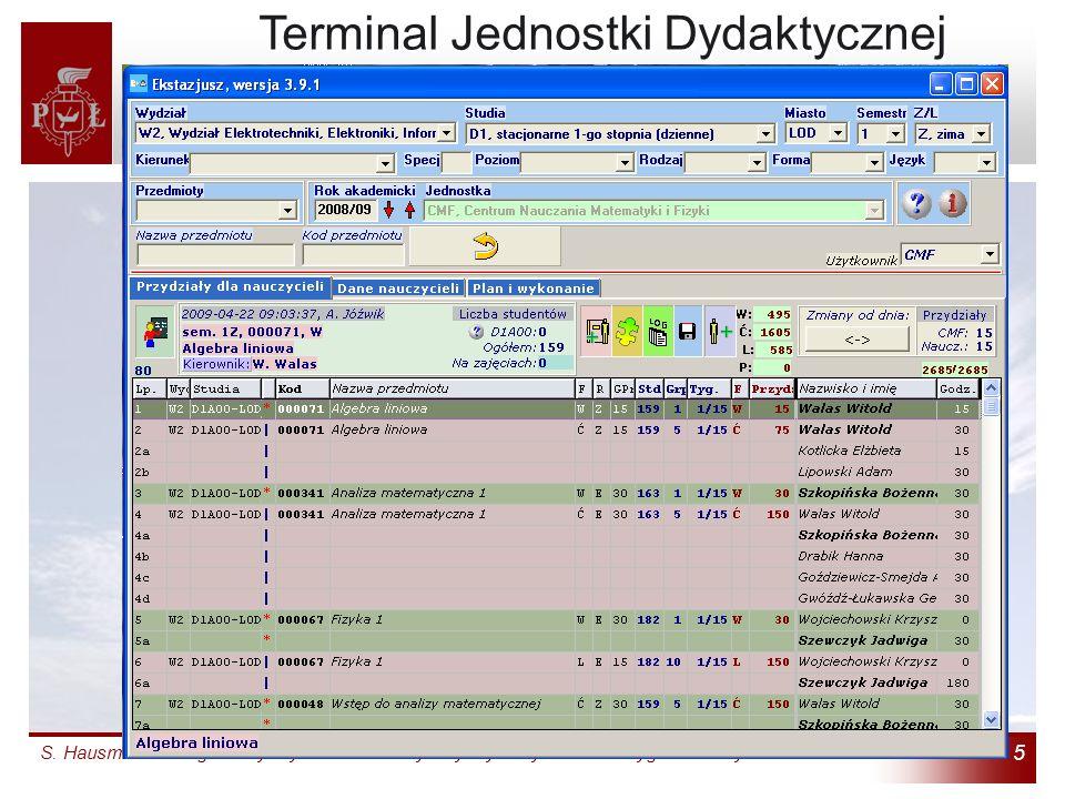 Terminal Jednostki Dydaktycznej (4)