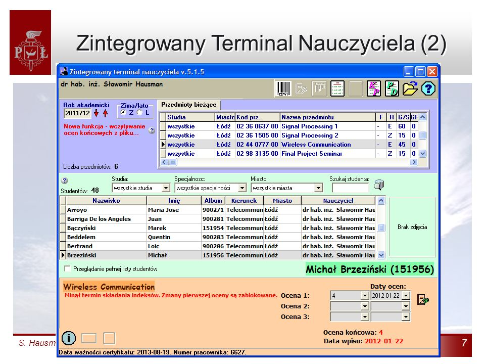 Zintegrowany Terminal Nauczyciela (2)