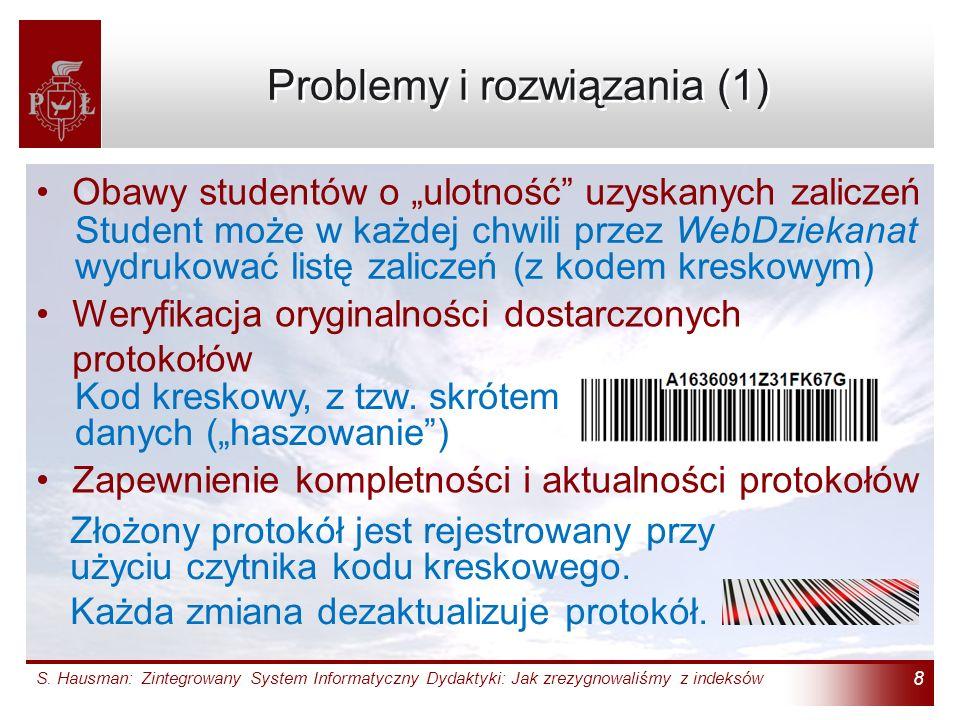Problemy i rozwiązania (1)
