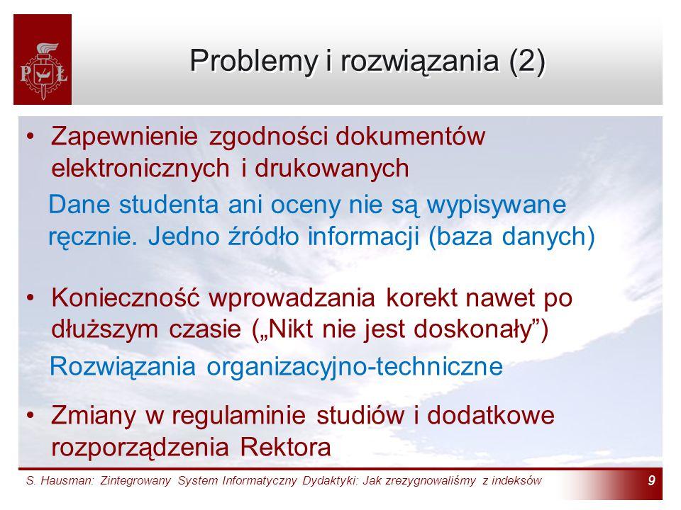 Problemy i rozwiązania (2)