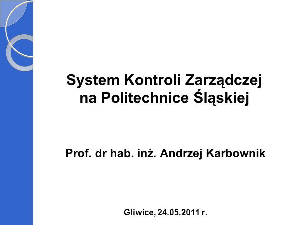 System Kontroli Zarządczej na Politechnice Śląskiej