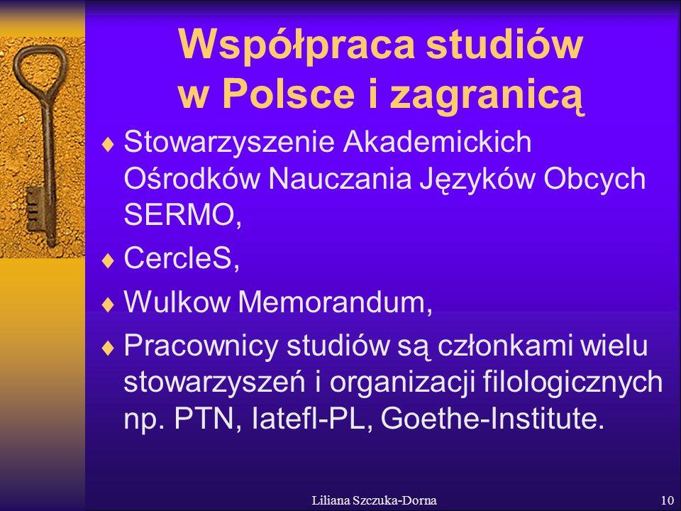 Współpraca studiów w Polsce i zagranicą