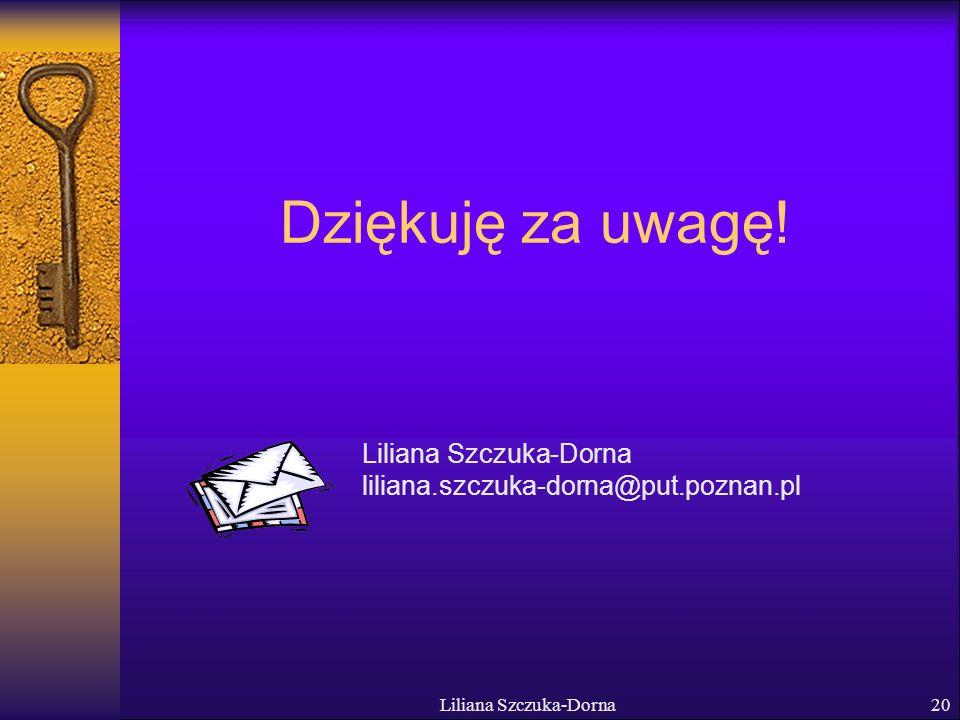 Liliana Szczuka-Dorna