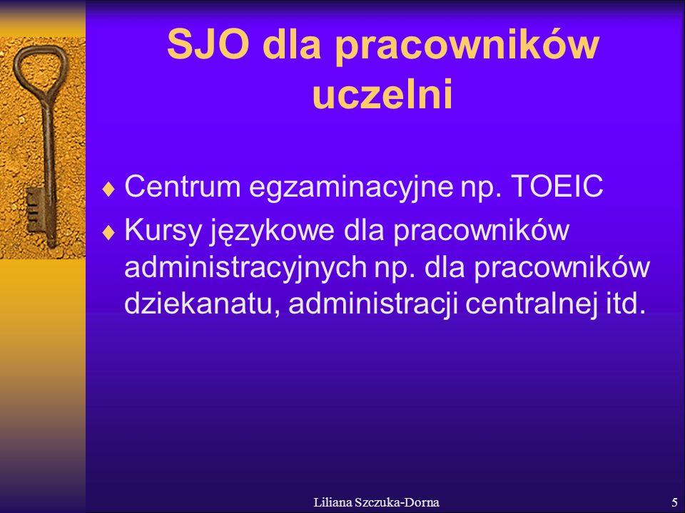 SJO dla pracowników uczelni