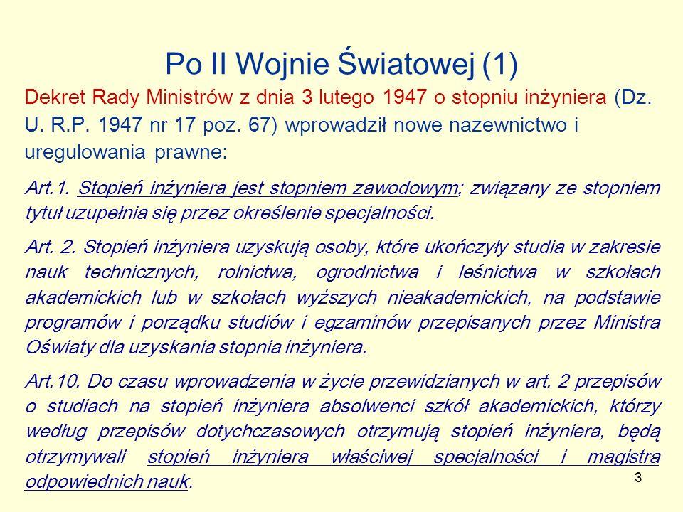 Po II Wojnie Światowej (1)