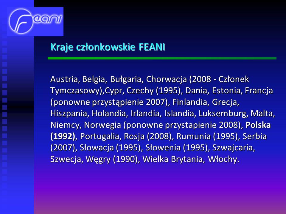 Kraje członkowskie FEANI