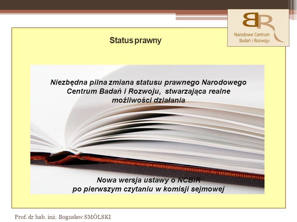 Nowa wersja ustawy o NCBiR po pierwszym czytaniu w komisji sejmowej