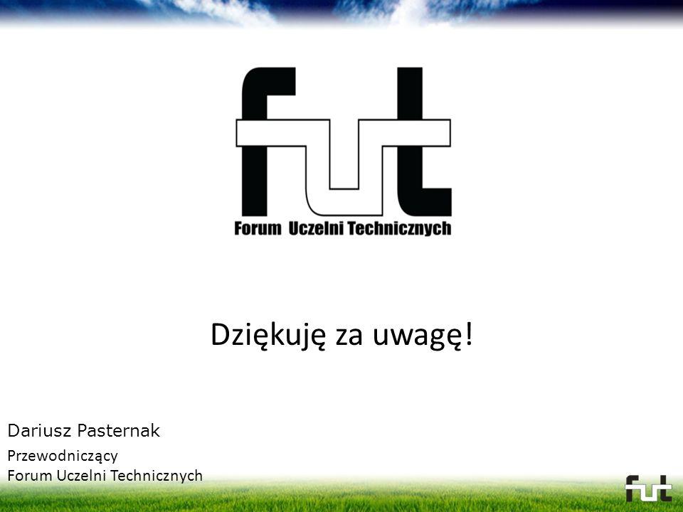 Dziękuję za uwagę! Dariusz Pasternak Przewodniczący