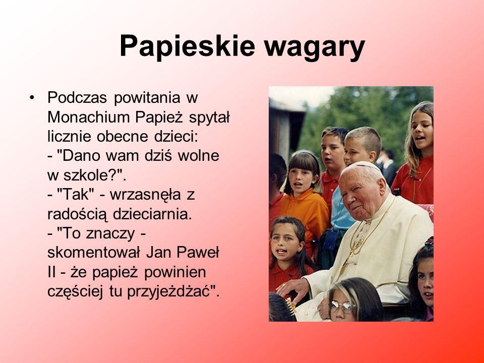 Papieskie wagary