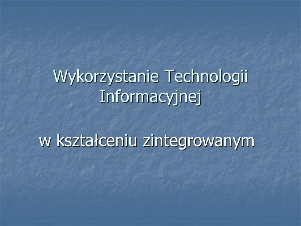 Wykorzystanie Technologii Informacyjnej