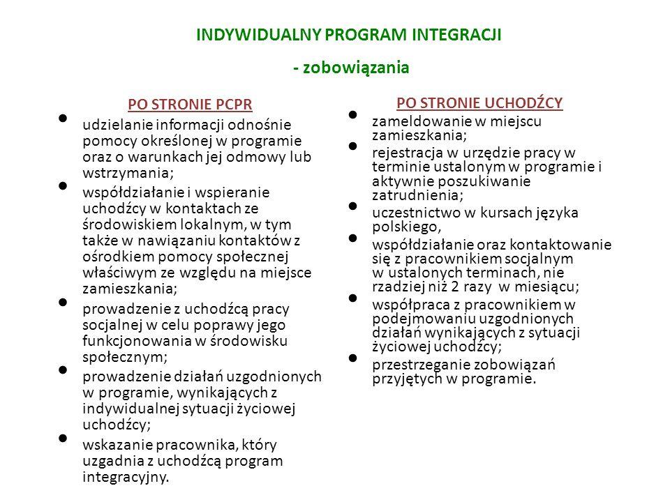 INDYWIDUALNY PROGRAM INTEGRACJI