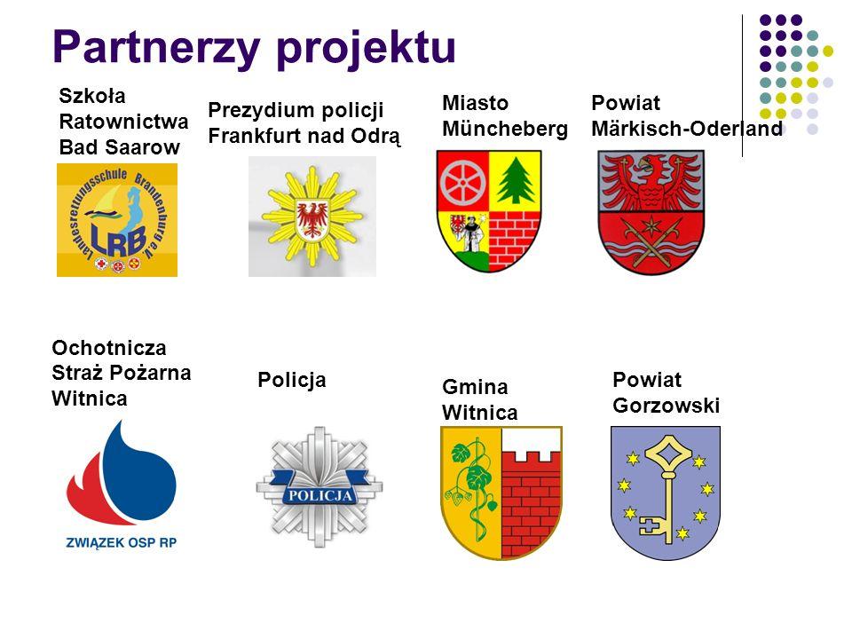 Partnerzy projektu Szkoła Ratownictwa Bad Saarow Miasto Müncheberg