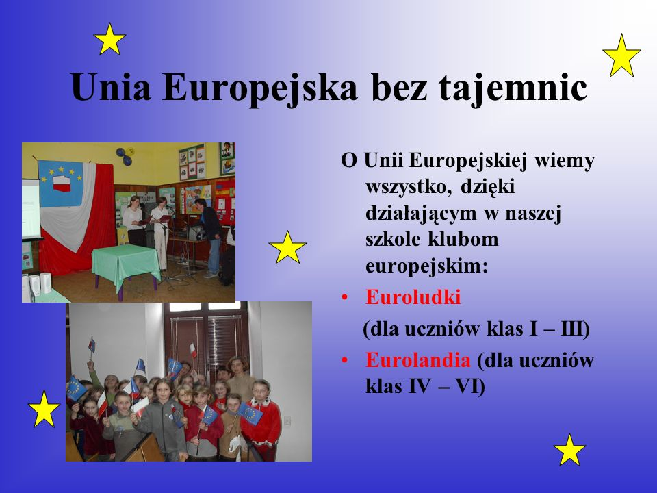 Unia Europejska bez tajemnic