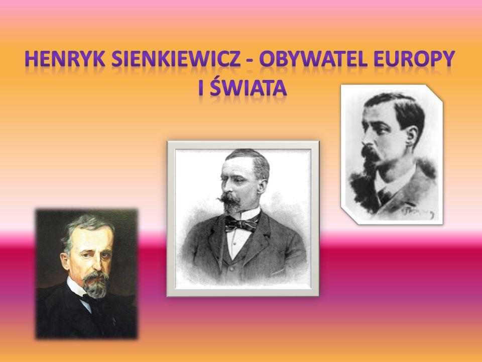 Henryk Sienkiewicz - obywatel Europy