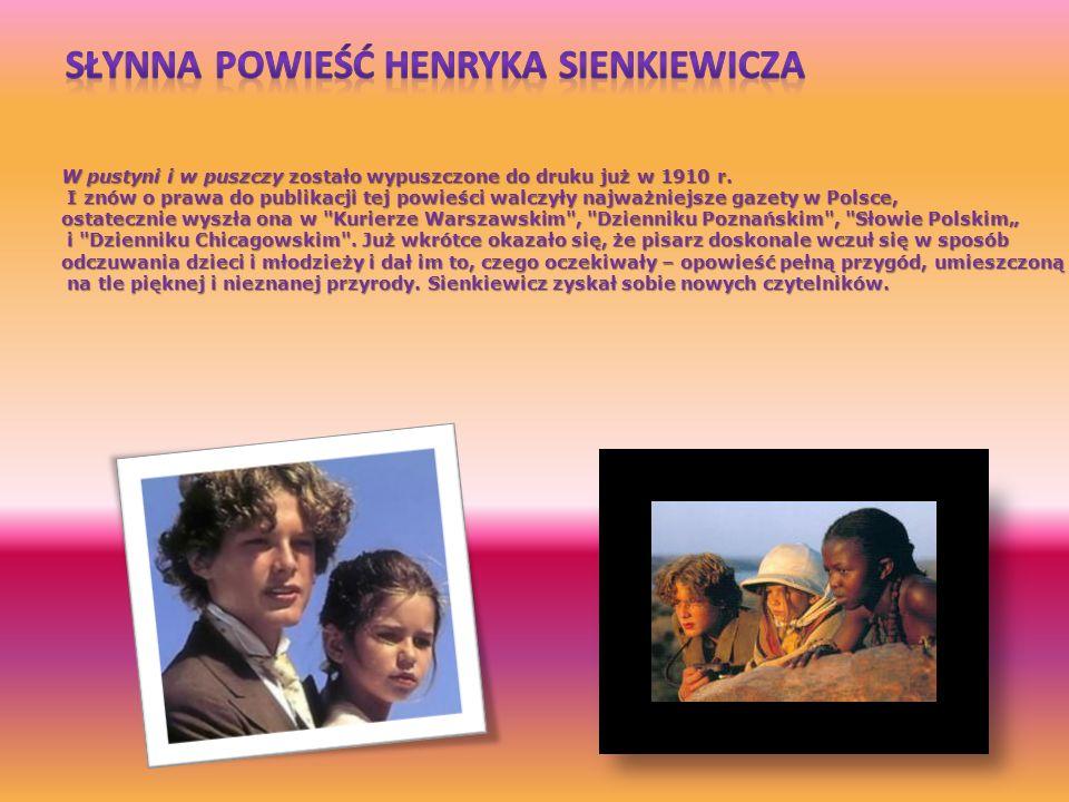 Słynna Powieść Henryka Sienkiewicza
