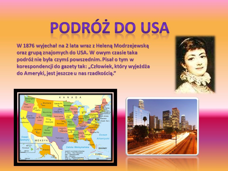 Podróż Do USA