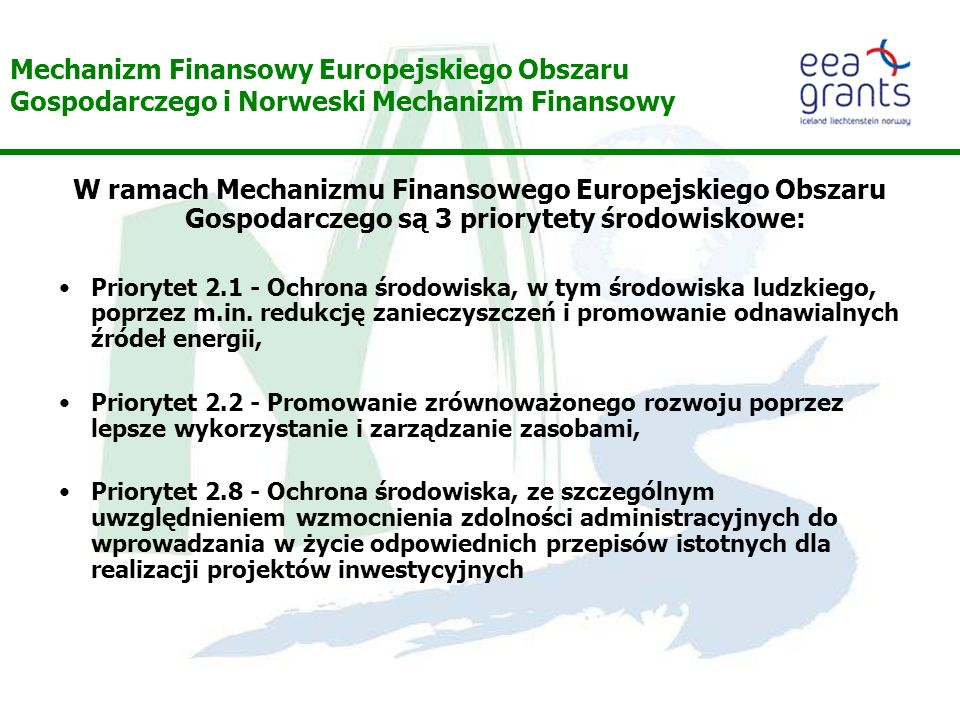 Mechanizm Finansowy Europejskiego Obszaru Gospodarczego i Norweski Mechanizm Finansowy