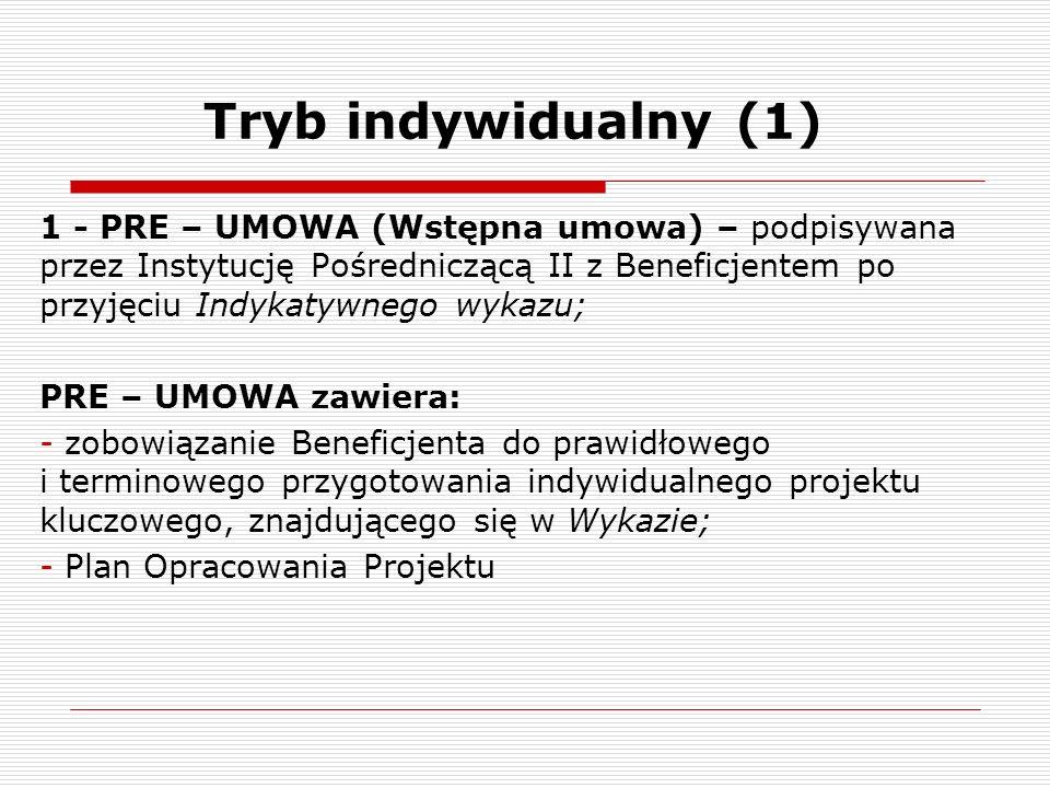 Tryb indywidualny (1)