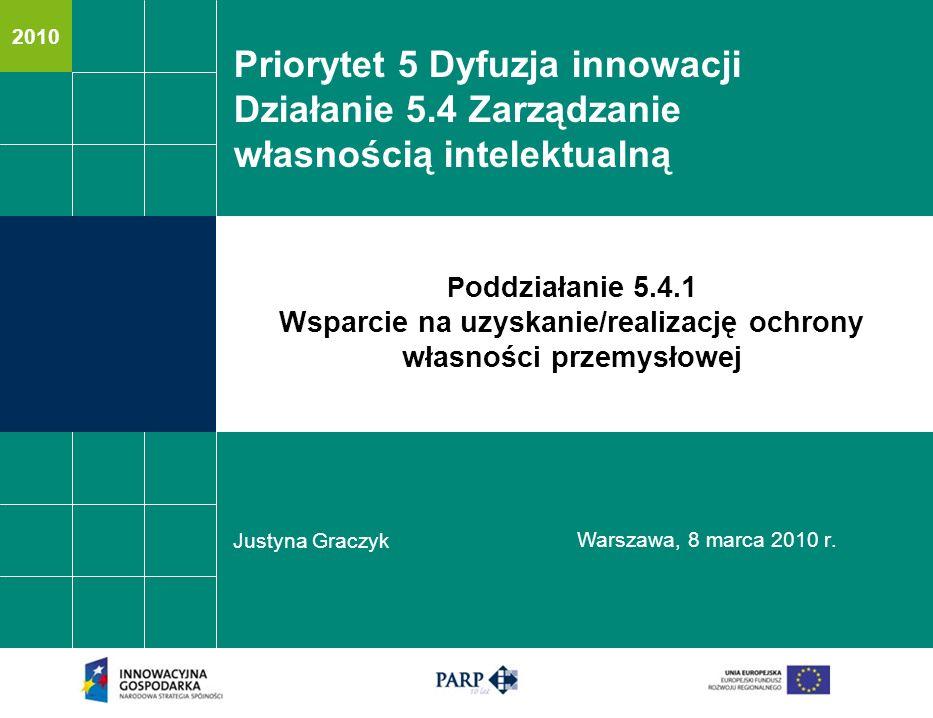 Priorytet 5 Dyfuzja innowacji
