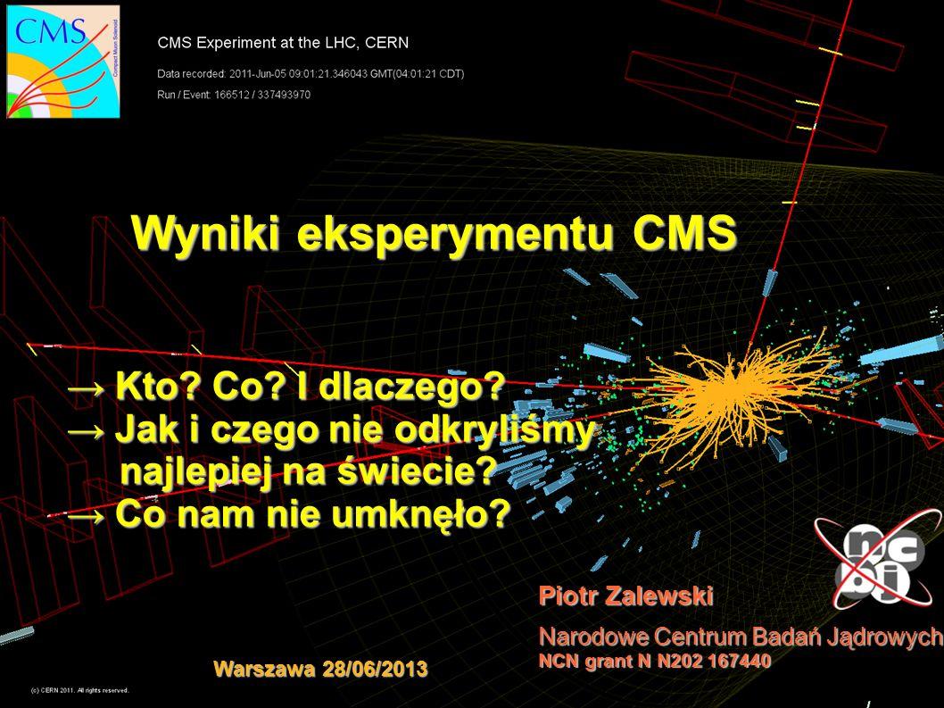 Wyniki eksperymentu CMS