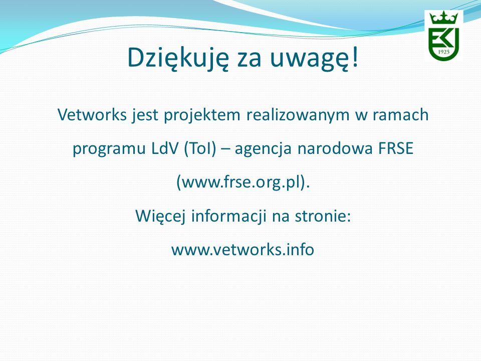 Więcej informacji na stronie:
