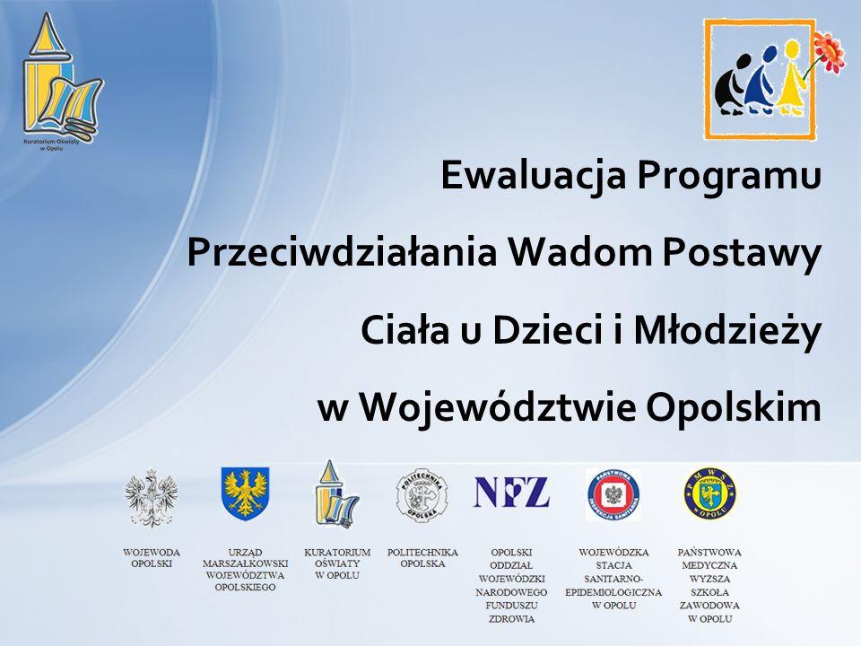 Ewaluacja Programu Przeciwdziałania Wadom Postawy Ciała u Dzieci i Młodzieży w Województwie Opolskim