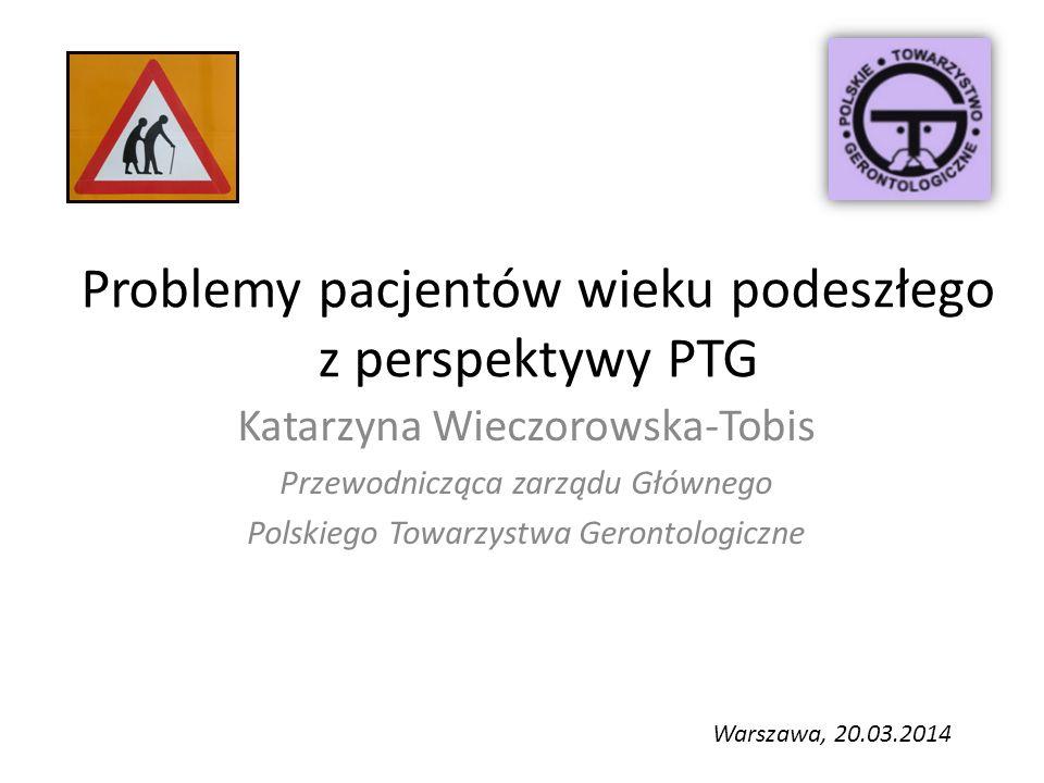 Problemy pacjentów wieku podeszłego z perspektywy PTG