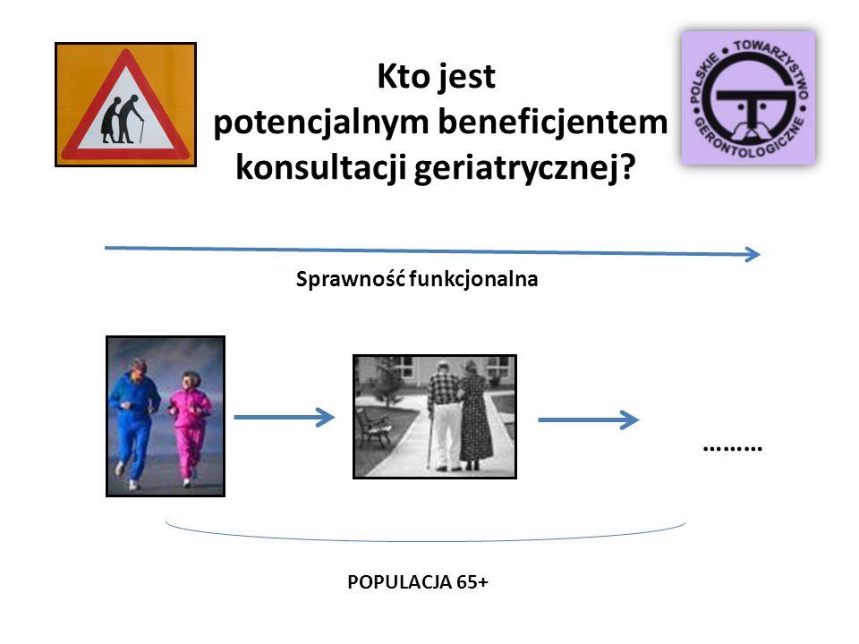 Kto jest potencjalnym beneficjentem konsultacji geriatrycznej