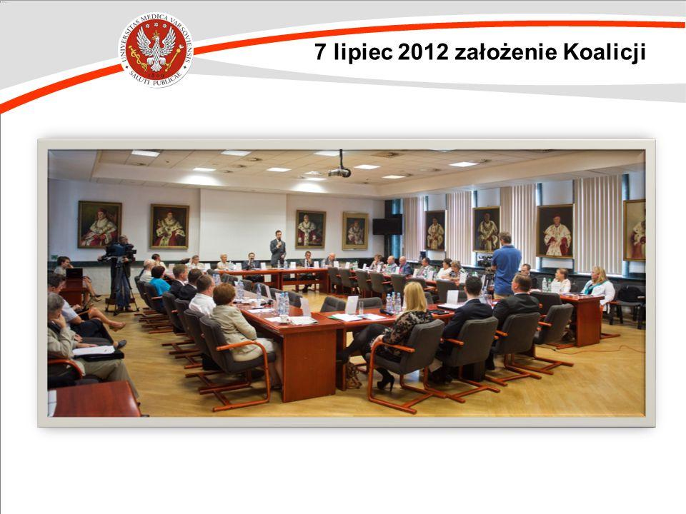 7 lipiec 2012 założenie Koalicji