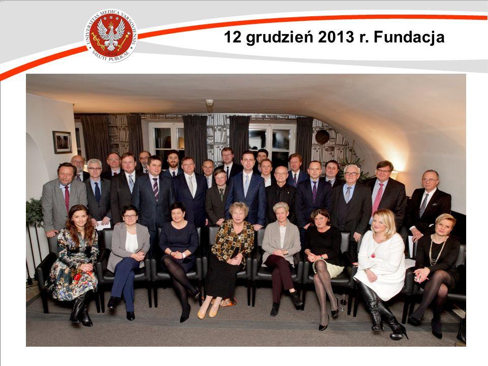 12 grudzień 2013 r. Fundacja