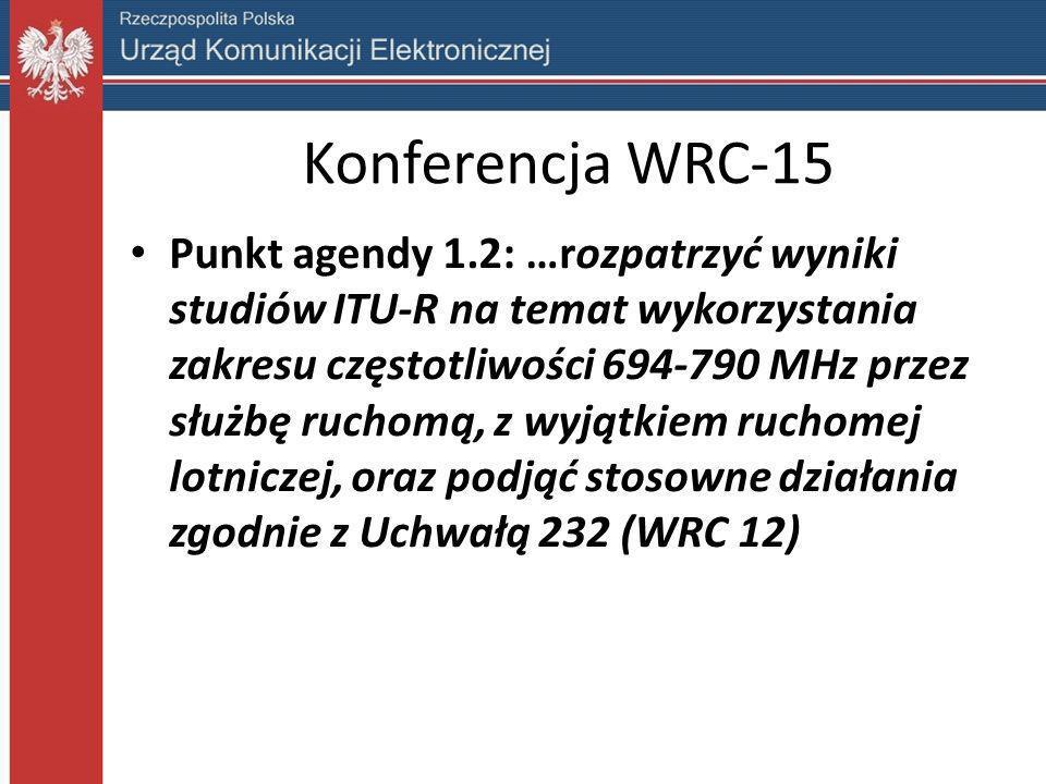 Konferencja WRC-15