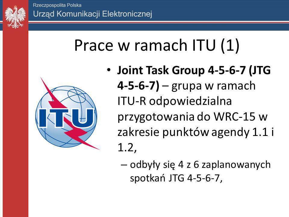 Prace w ramach ITU (1)