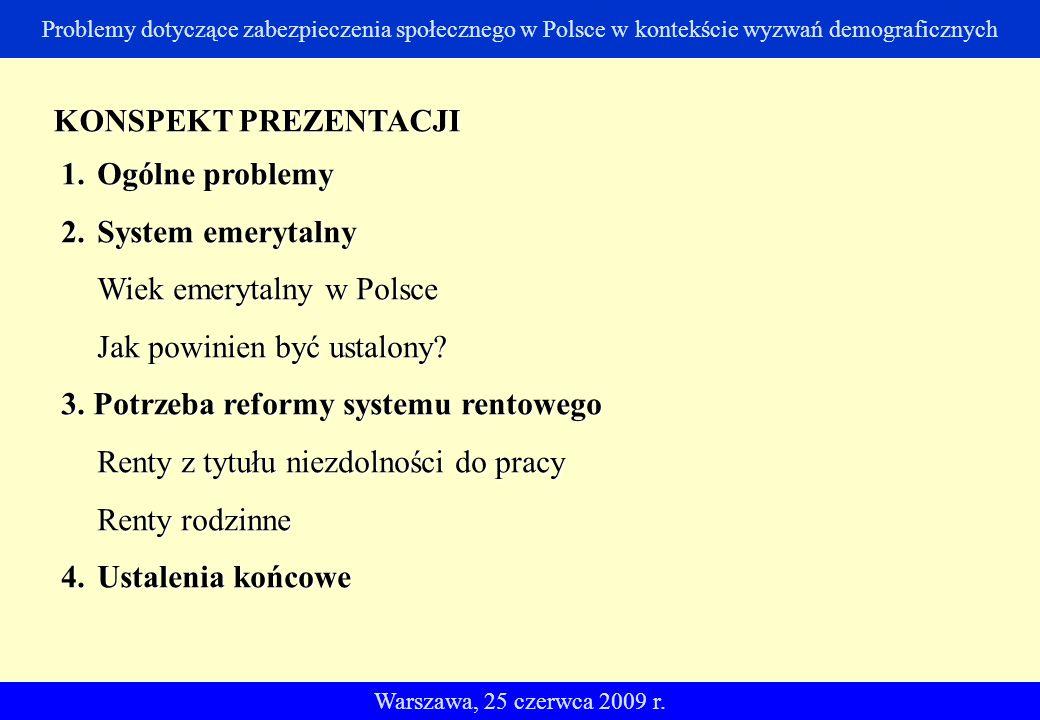 Wiek emerytalny w Polsce Jak powinien być ustalony