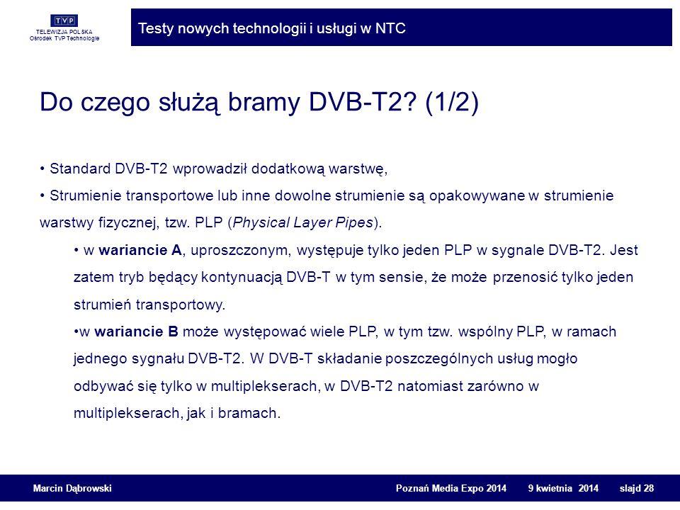 Do czego służą bramy DVB-T2 (1/2)