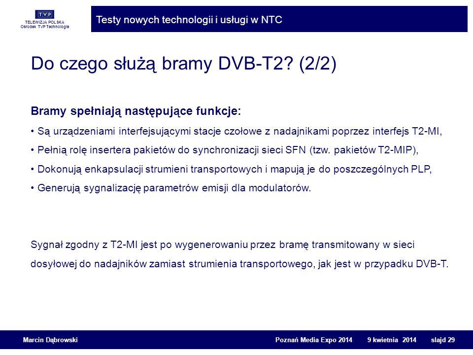 Do czego służą bramy DVB-T2 (2/2)