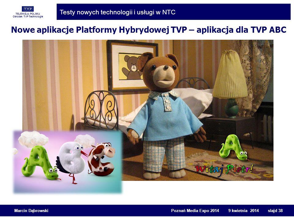 Nowe aplikacje Platformy Hybrydowej TVP – aplikacja dla TVP ABC