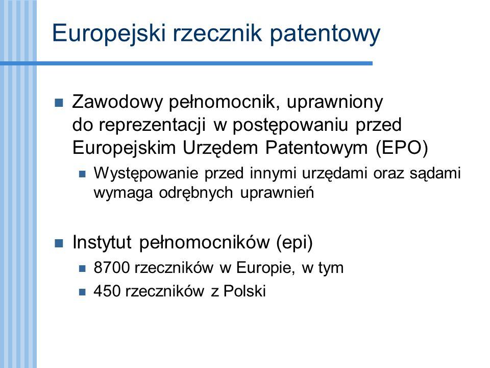 Europejski rzecznik patentowy