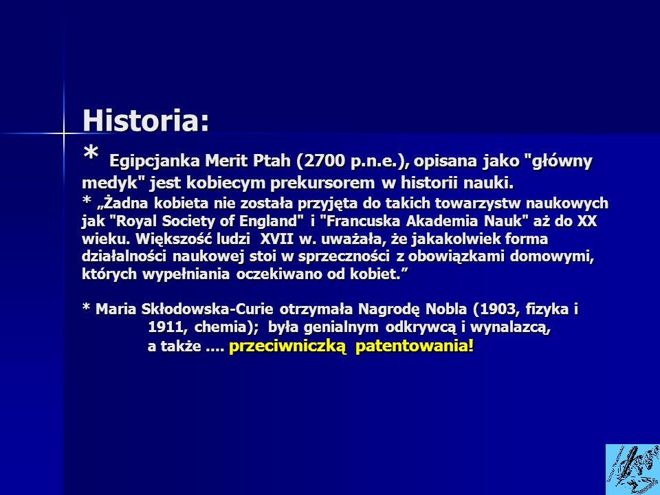 Historia:. Egipcjanka Merit Ptah (2700 p. n. e