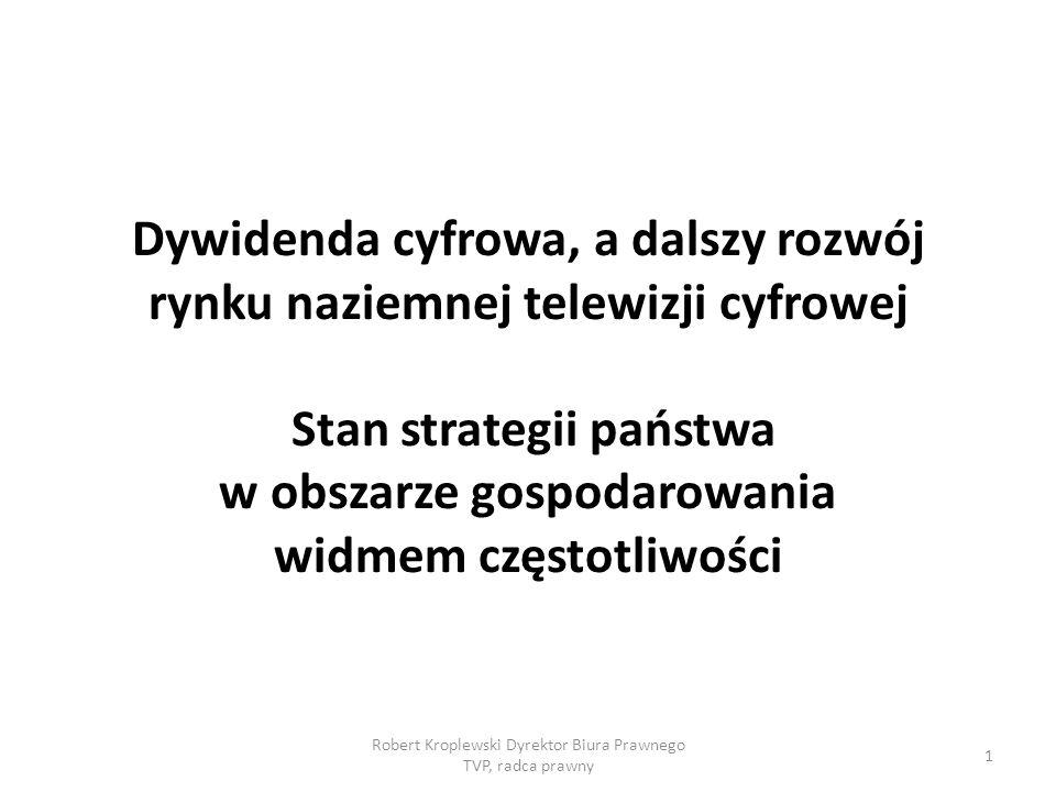 Robert Kroplewski Dyrektor Biura Prawnego TVP, radca prawny