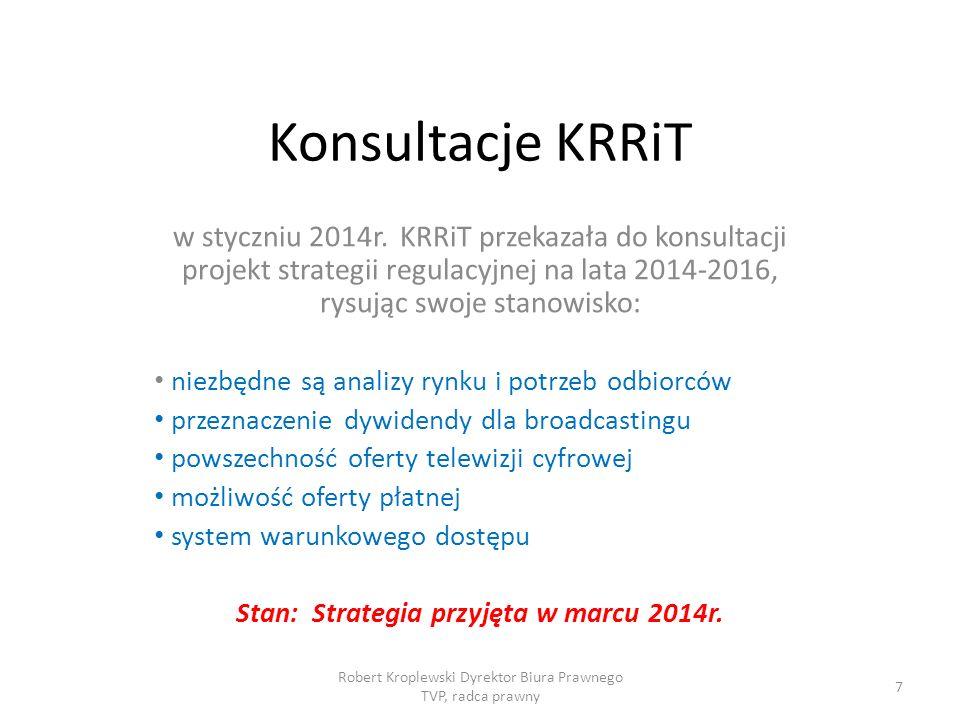 Stan: Strategia przyjęta w marcu 2014r.