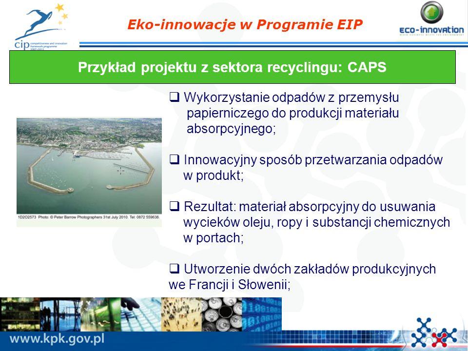Przykład projektu z sektora recyclingu: CAPS