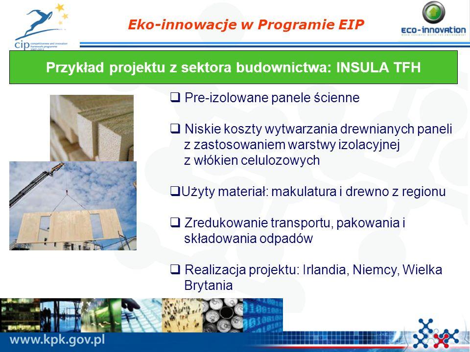 Przykład projektu z sektora budownictwa: INSULA TFH
