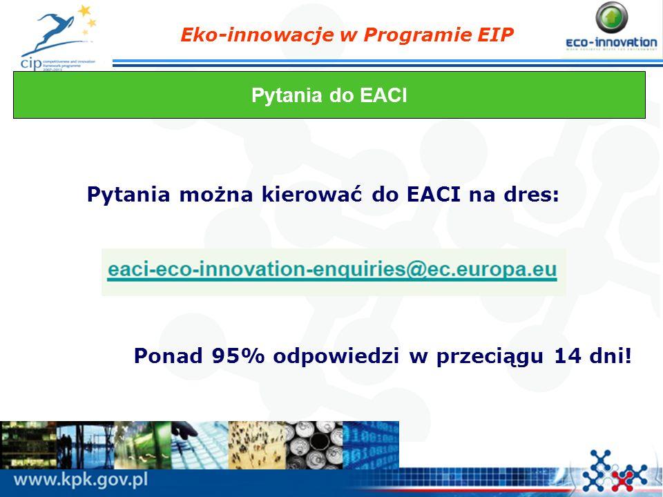 Eko-innowacje w Programie EIP