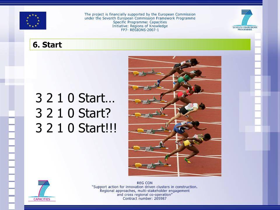 6. Start 3 2 1 0 Start… 3 2 1 0 Start 3 2 1 0 Start!!!