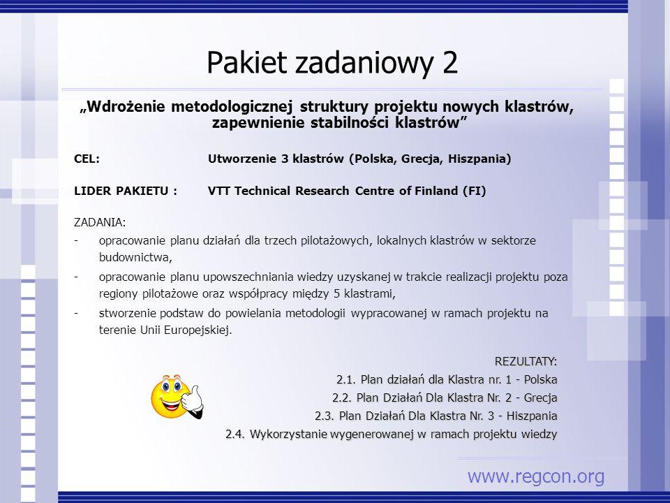 Pakiet zadaniowy 2 www.regcon.org
