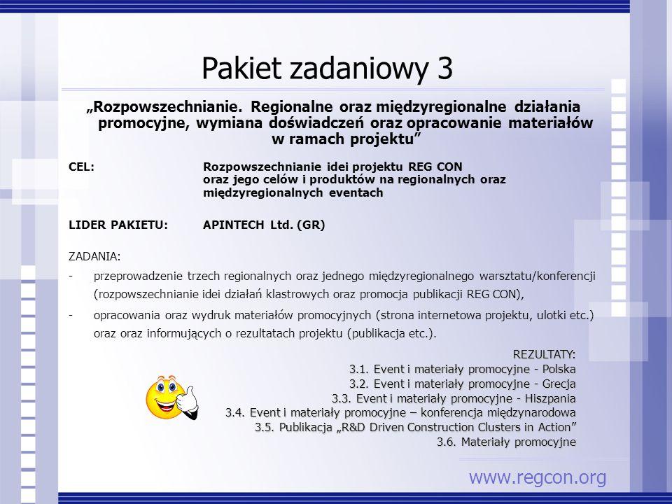 Pakiet zadaniowy 3 www.regcon.org